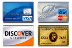 We Accept Visa Mastercard American Express and Discover in 92029